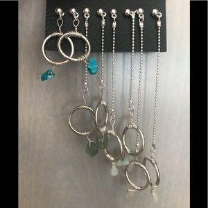 Free people dangle earrings
